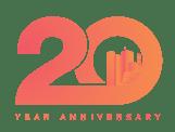 Payworks 20th Anniversary Logo.