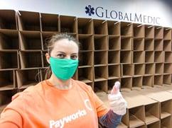 Payworks Sales Support Associate Victoria Irwin.