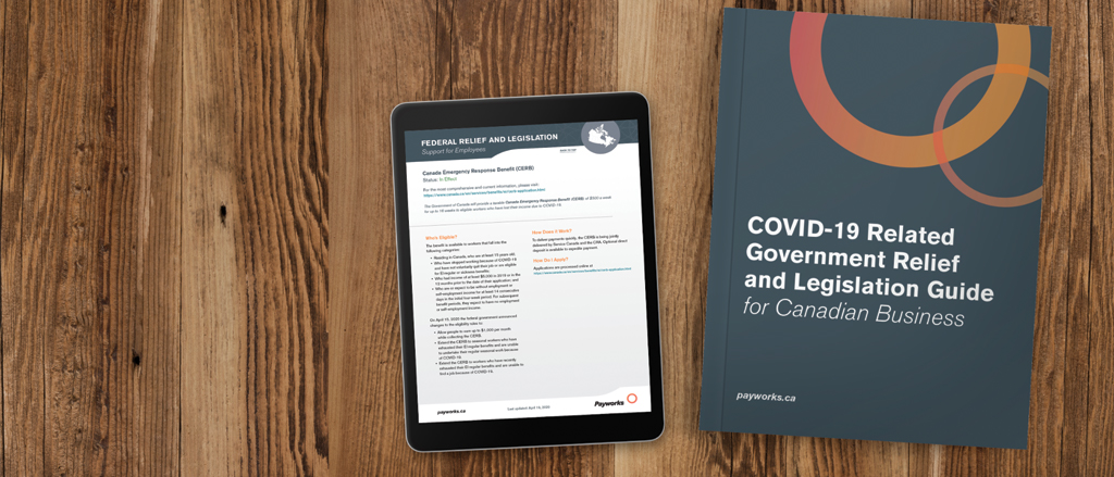 COVID-19 Related Legislation Guide for Canadian Businesses