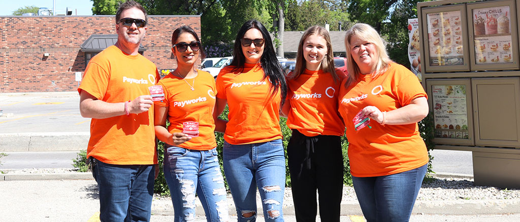 Coming together in support of Tim Hortons® Camp Day