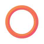 Payworks gradient circle logo.