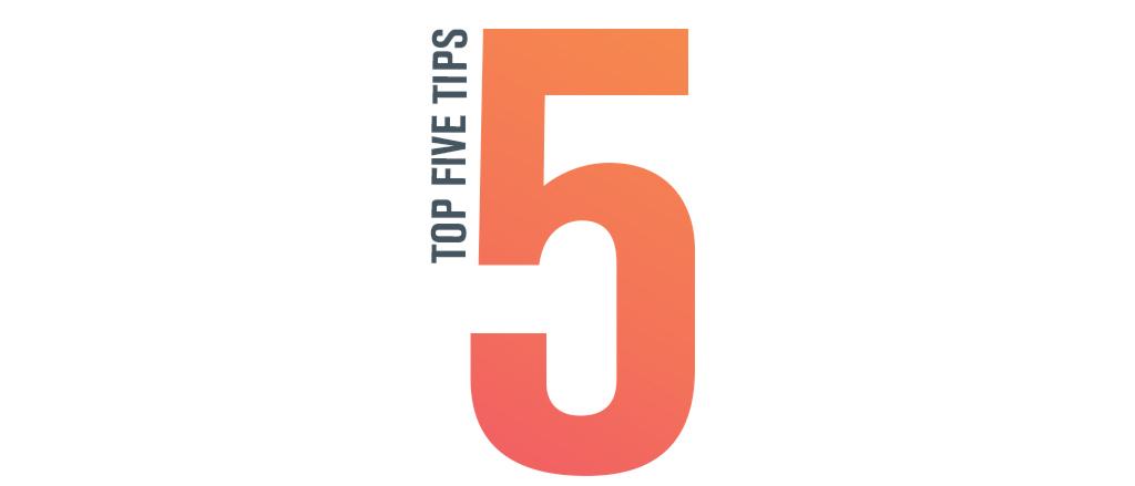 Top-5-tips